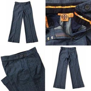Tory Burch Dress Pants Wide Trouser Lightweight